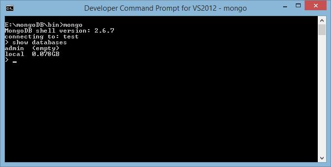 MongoDB First Select