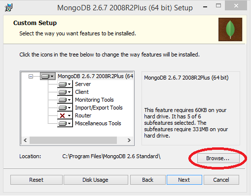 MongoDB Select Options